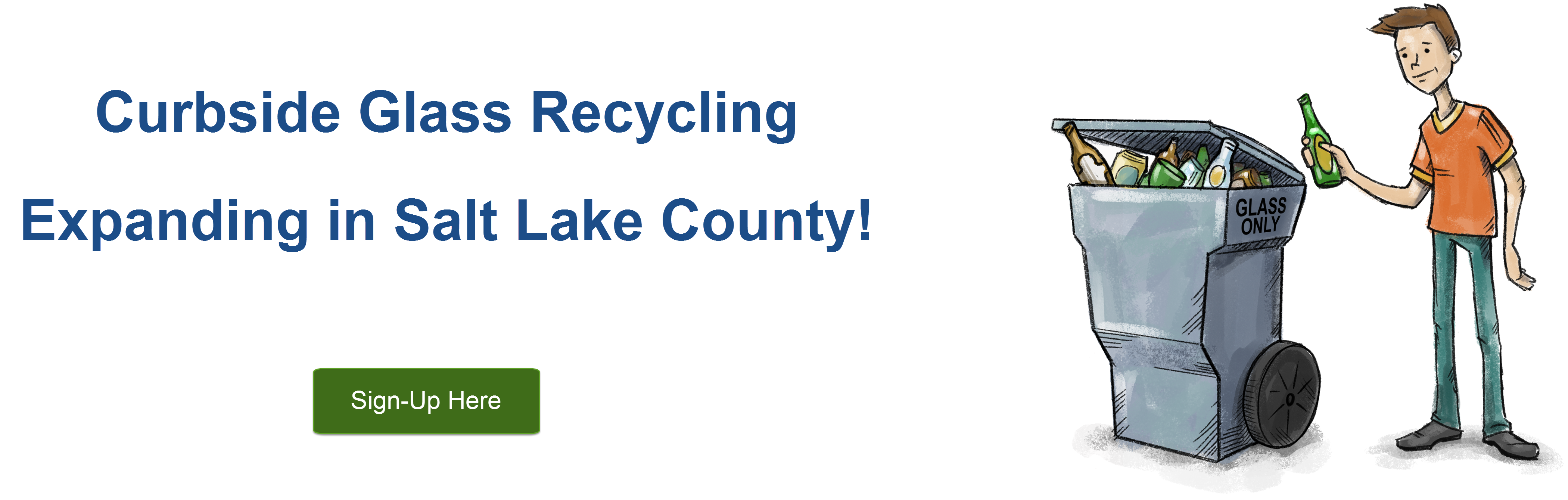 Salt Lake County Glass Recycling Program