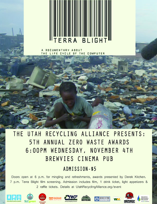 Zero Waste Awards Terra Blight Poster