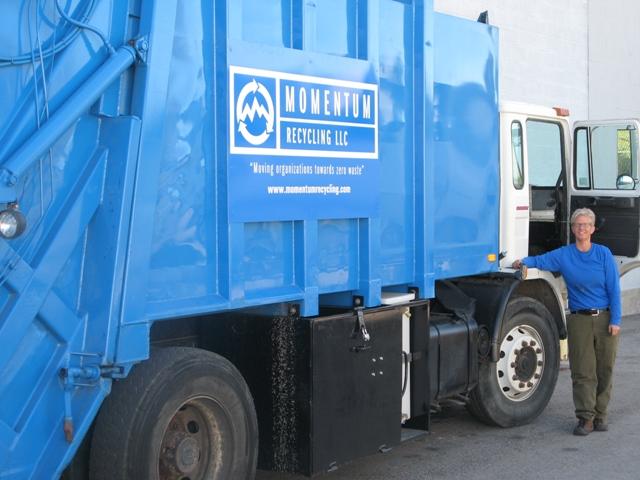 Momentum Recycling Truck