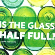 Is The Glass Half-Full? (Resource Recycling Article)