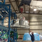 Construction of Colorado Glass Recycling Plant