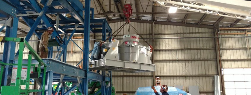Construction of Colorado Glass Recycling Plant