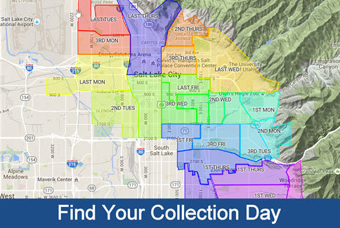 Find Your Curbside Glass Collection Day