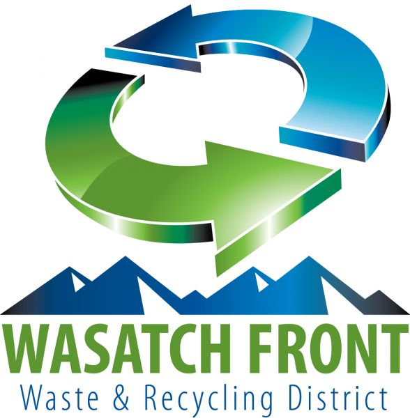 Wasatch Front Waste & Recycling Logo