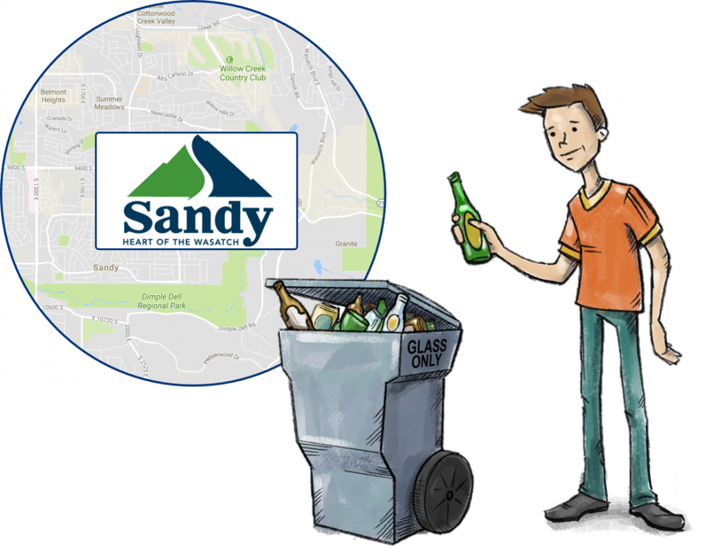 Sandy Glass Recycling Program