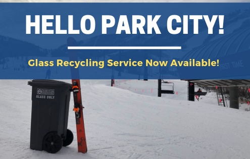 Park City Glass Recycling Service Announcement
