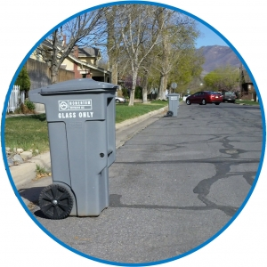 Residential Recycling Cart