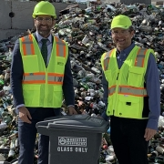 Sandy City Mayor Visiting Momentum Recycling