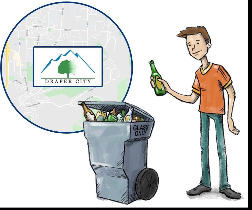 Draper Utah Residential Glass Recycling
