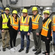 Taylorsville Elected Officials Touring Momentum Recycling's Facility