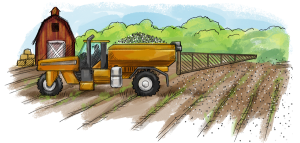 Food Waste Collection Process - Tractor